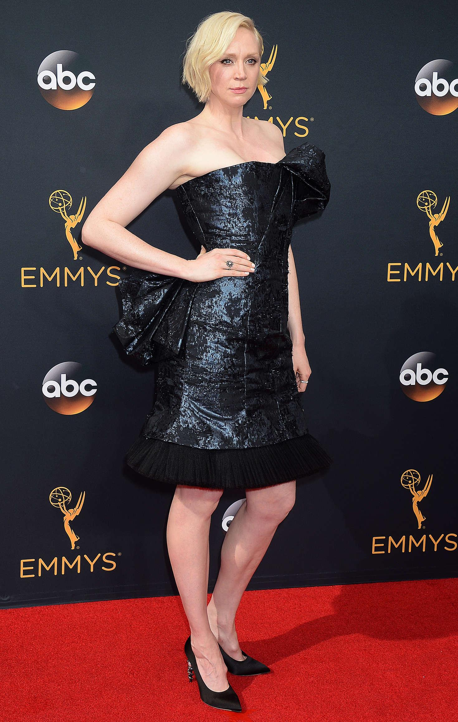 Gwendoline Christie 2016 Emmy Awards 14 GotCeleb