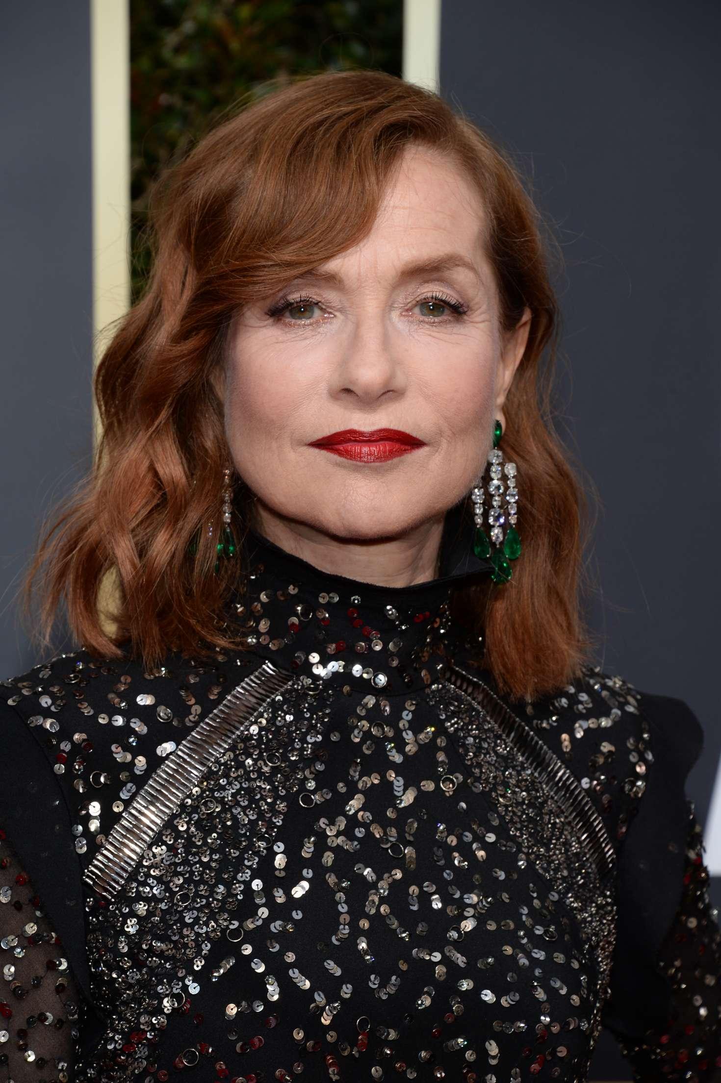 Isabelle Huppert 2018 Golden Globe Awards In Beverly Hills