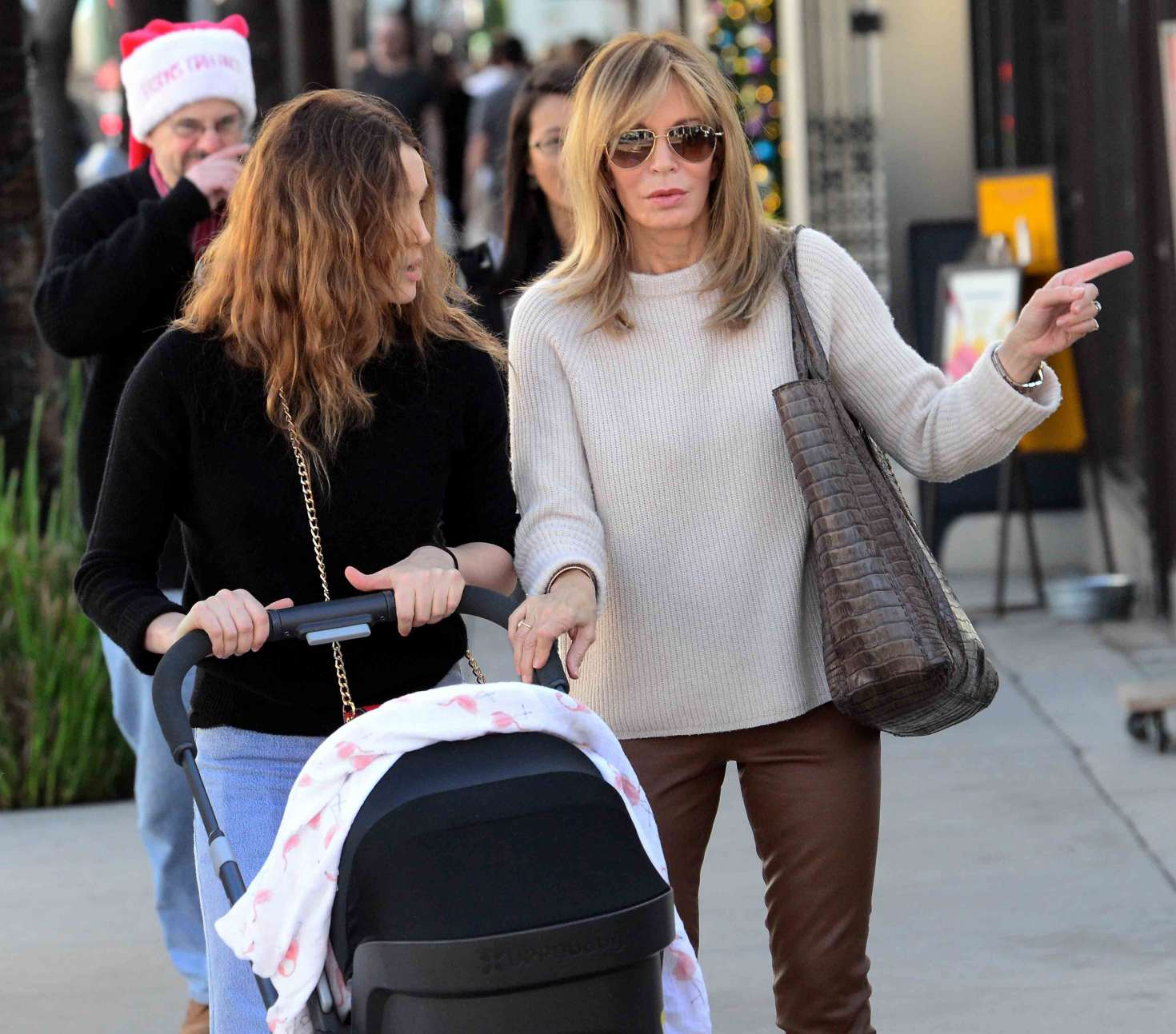 Jaclyn Smith With Daughter Spencer Margaret Richmond Out