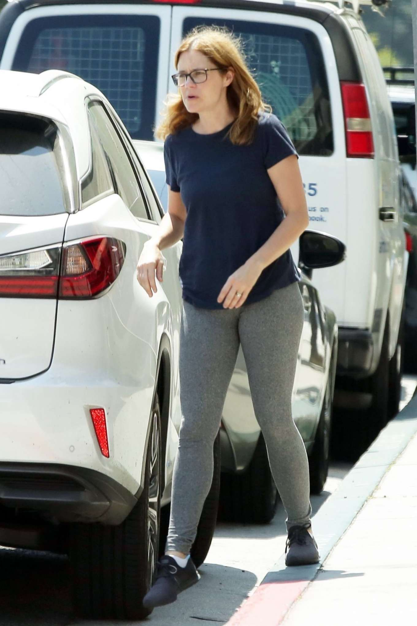 Jenna Fischer Out And About In Los Angeles Gotceleb