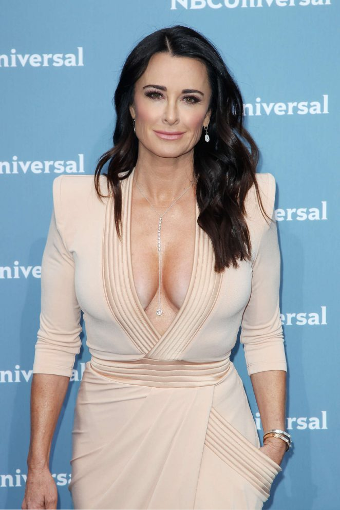 Kyle Richards NBCUniversal Upfront Presentation 2016 In
