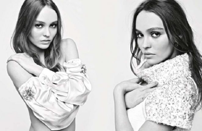 Lily Rose Depp and Cara Delevingne For Chanel Fall 2017 Ad Campaign -07