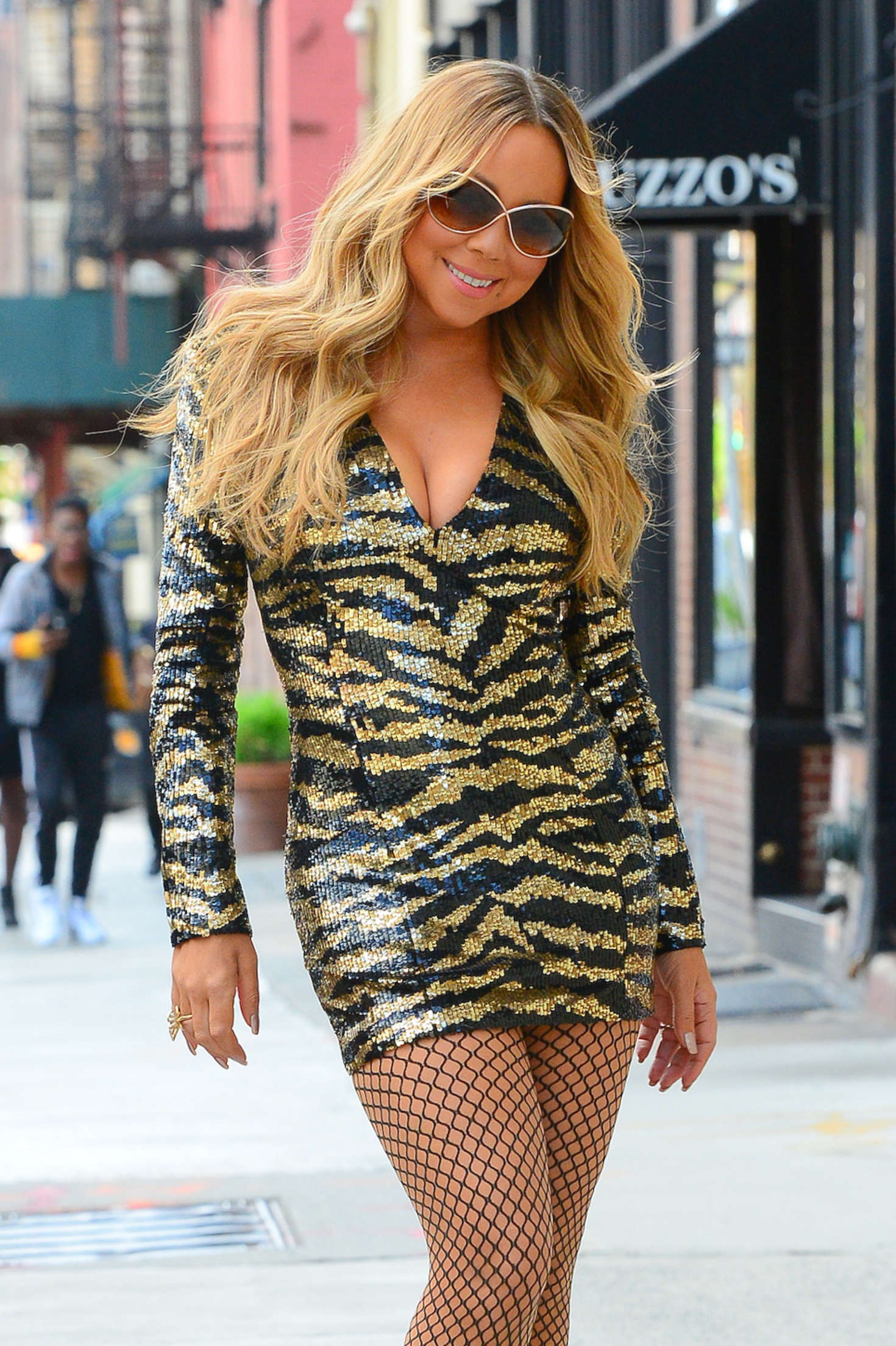 Mariah Carey In Short Dress Out In Nyc Gotceleb