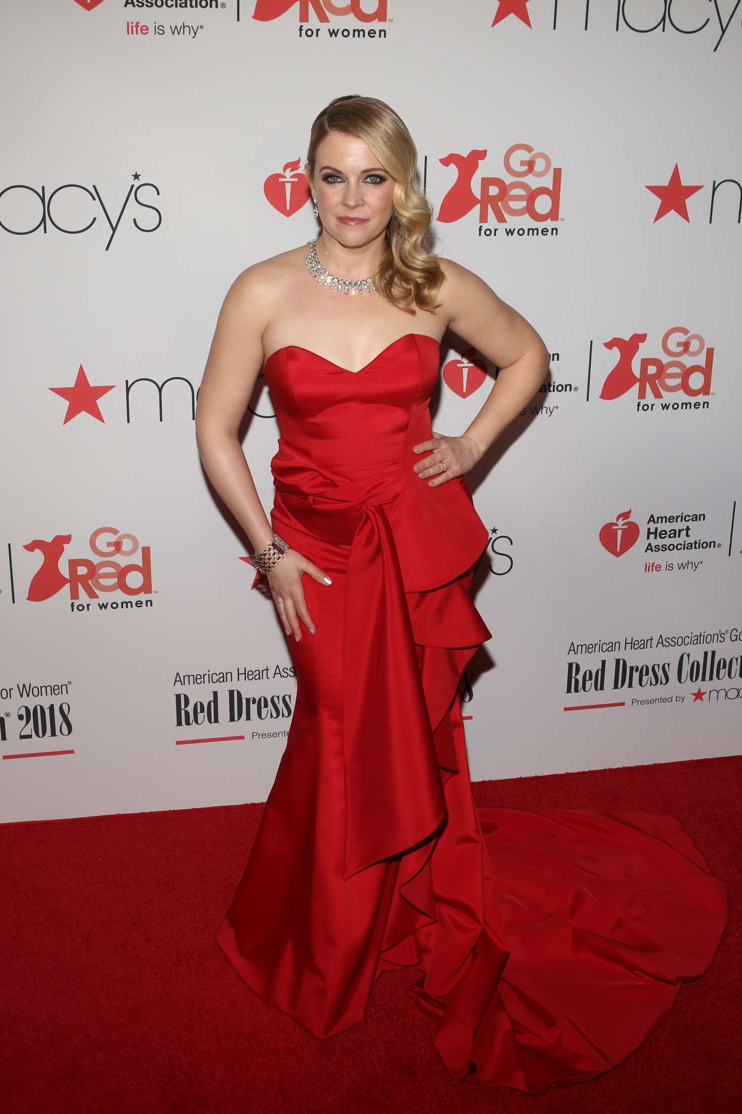 Melissa Joan Hart American Heart Association S Go Red