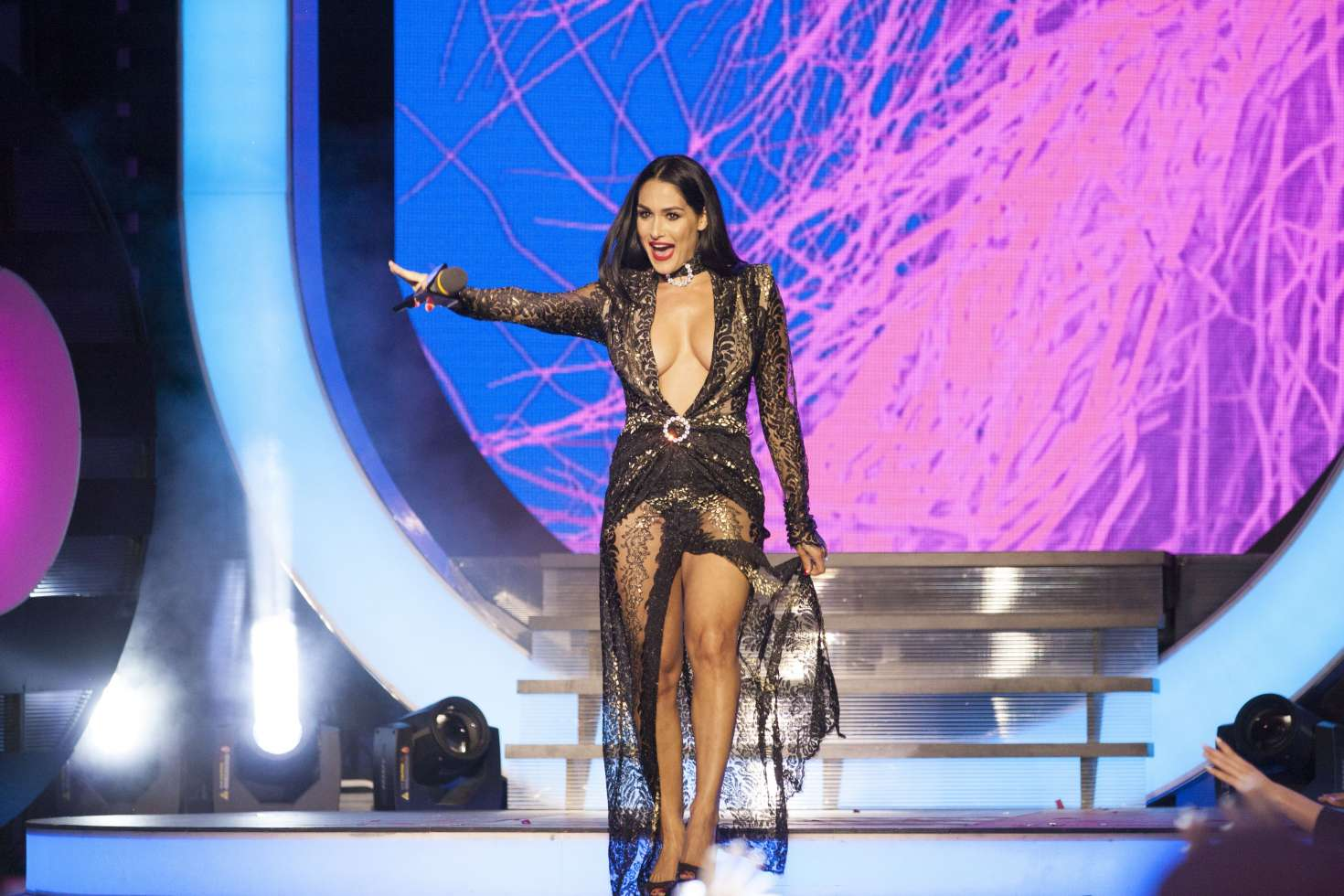 Nikki Bella 2017 IHeartRadio MuchMusic Video Awards 09
