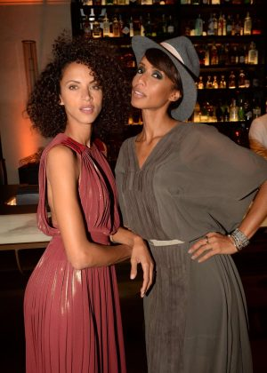 Noemie Lenoir Cindy Bruna Celebrates Her 24th Birthday