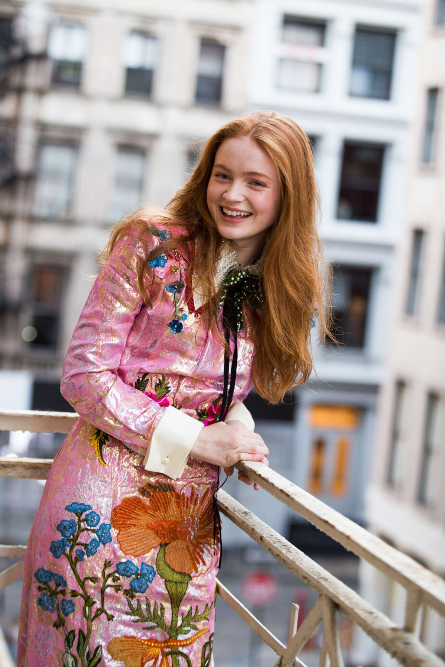 Sadie Sink Coveteur Photoshoot 2017 02 GotCeleb