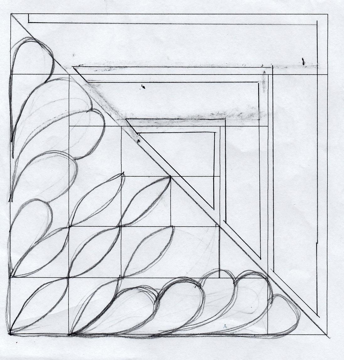 Elegant Block Quilting Diagram