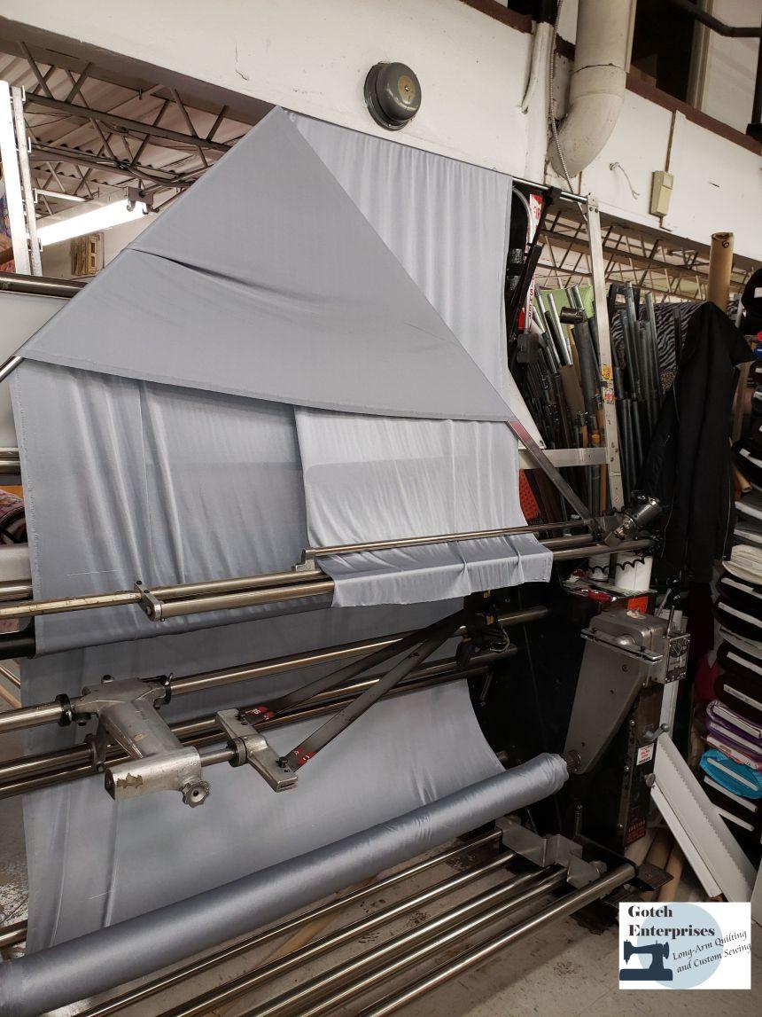 Fabric Bolt Machine