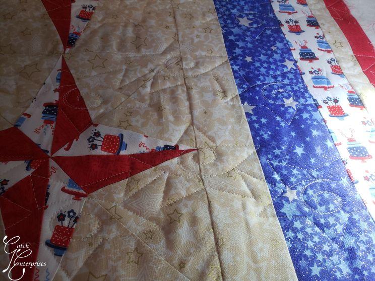 Patriotic Stars Quilting