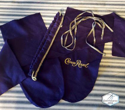 Crown Royal Bag apart