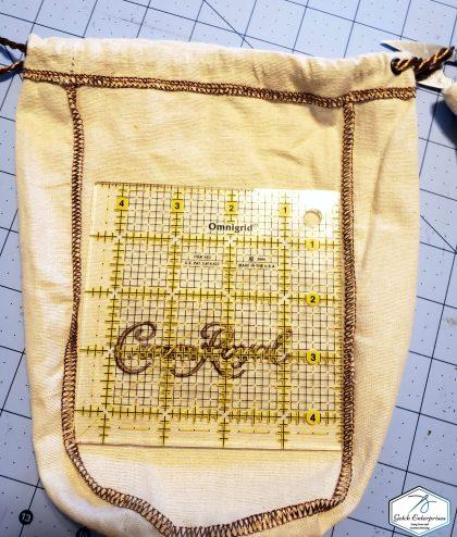 Crown Royal Bag White