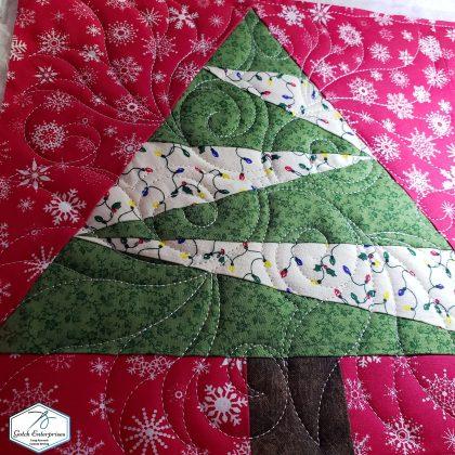 Santa Banner Block Quilting
