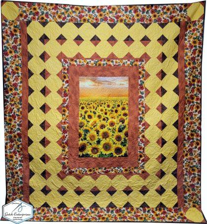 Debbie's Sunflower Quilt