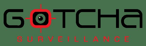 Gotcha Surveillance logo w-red