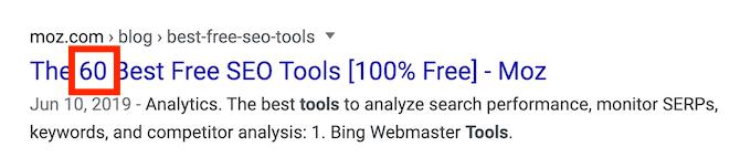 list of SEO tools