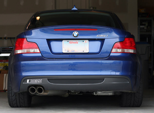 found these sweet exhaust tips bmw 1 series coupe forum 1 series convertible forum 1m tii 135i 128i coupe cabrio hatchback bmw e82 e88 128i 130i 135i