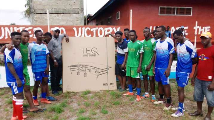 United Nimba Teqball Team