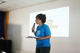 @chaliebeau @ wordcamp kampala shares