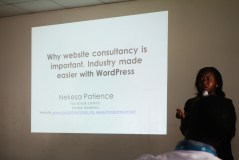 ip nekesa@ wordcamp kampala