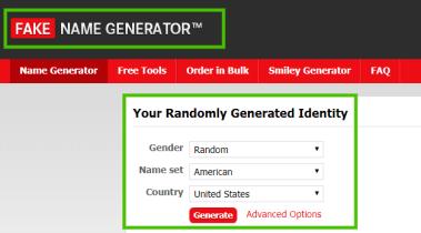 fakename generator