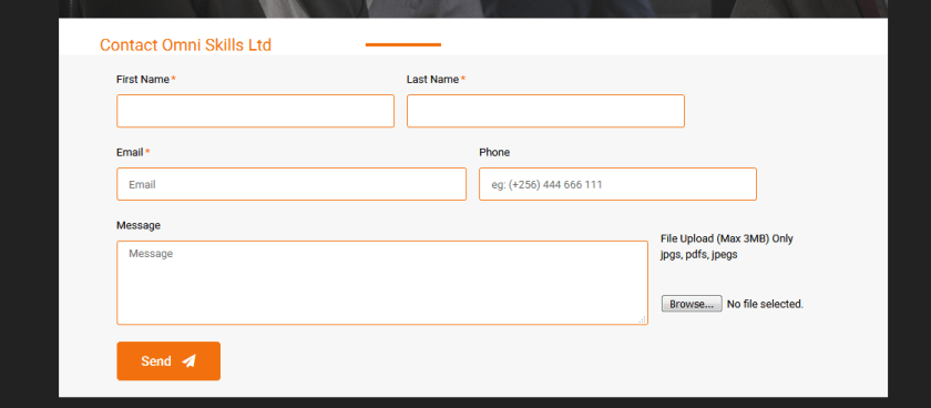 Elementor contact forms