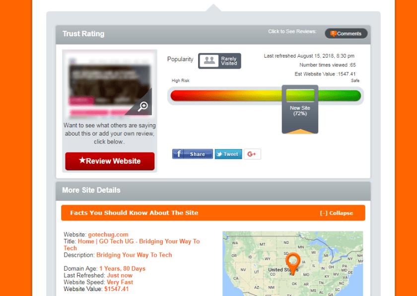 Know your domain registrar