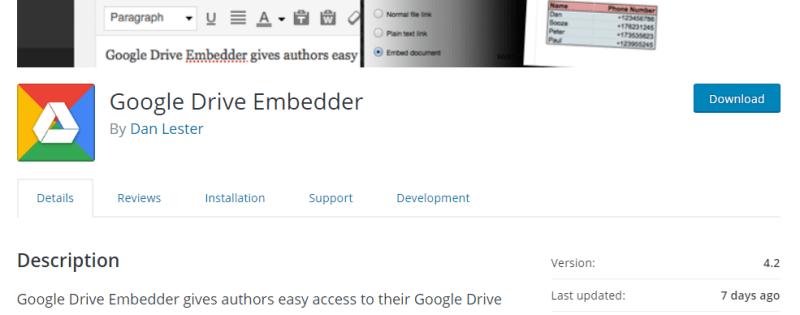 google drive embender
