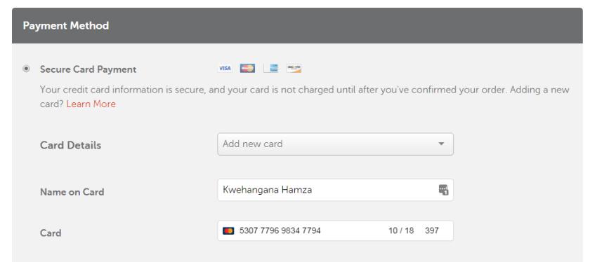 added momocard