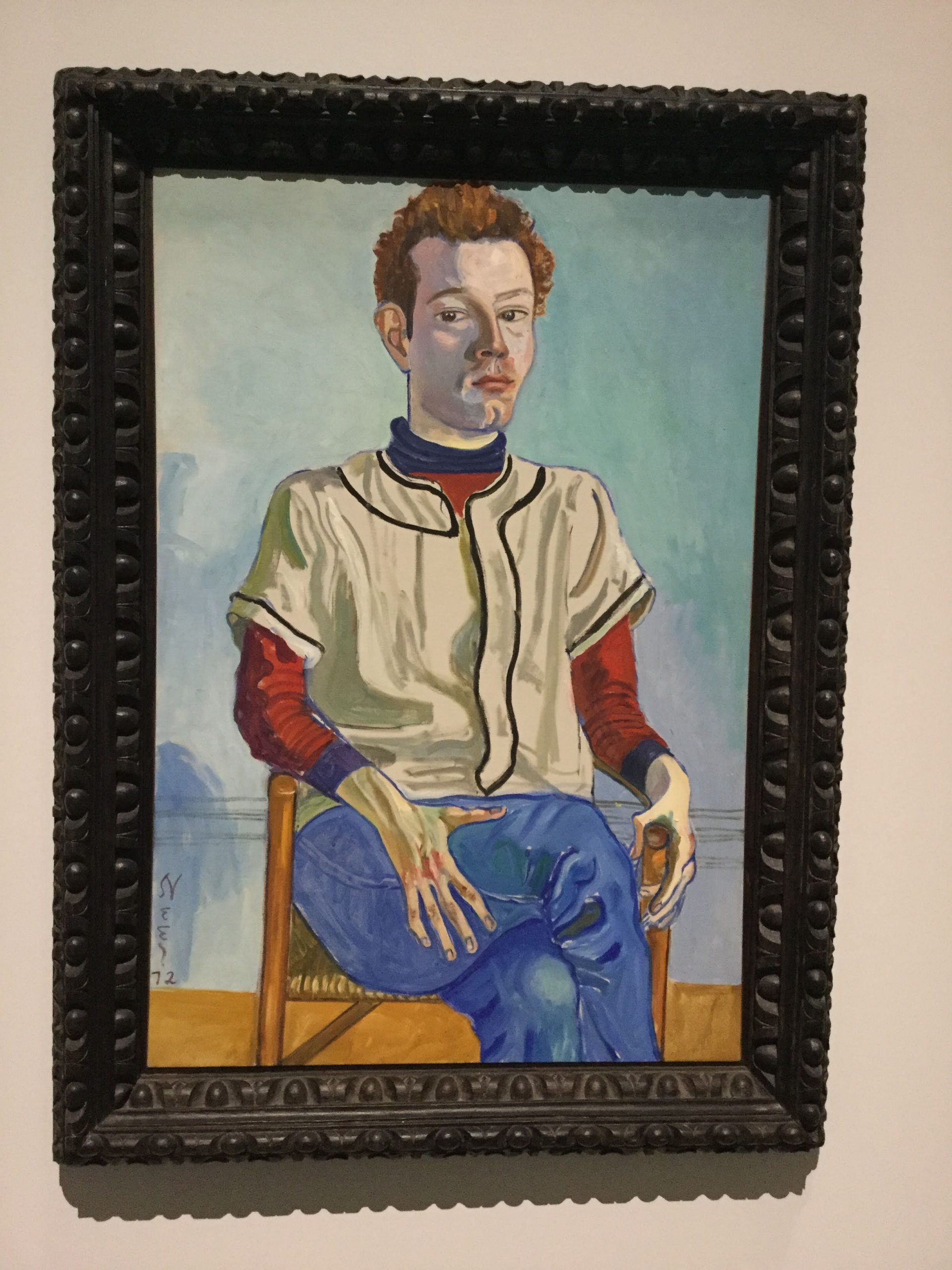 """""""Jackie Curtis as a Boy"""" by Alice Neel"""