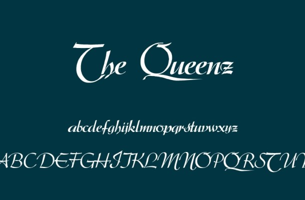 The Queenz Typeface Font