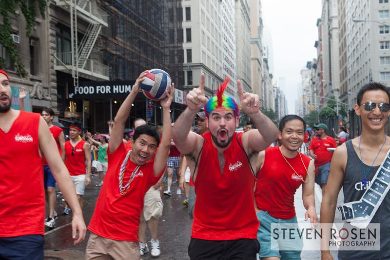 Gotham Volleyball @ NYC Pride 2013