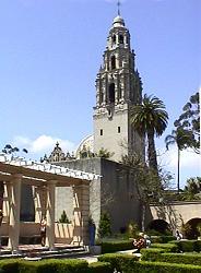 Balboa Park bell tower, San Diego
