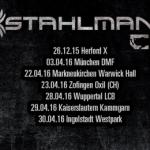 Stahlmann – Tour 2016