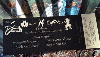 Owls ´n´Bats Festival 2016
