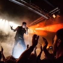 Schattenmann Auftritt am 11.2.2017 in Berlin - Foto by Gosia Budig