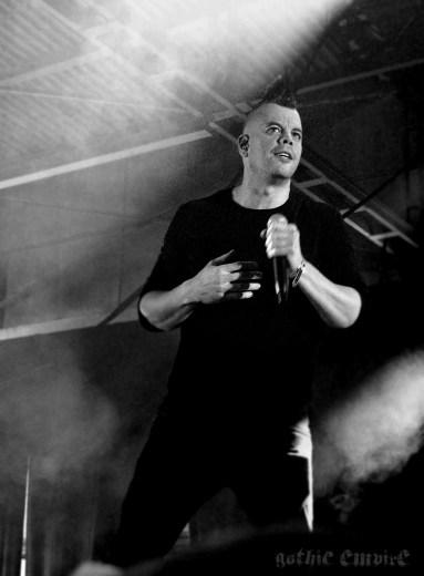 Faderhead aus Hamburg bei seinem Auftritt auf dem Mera Luna 2017