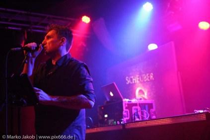 Scheuber live in Concert with Faderhead Berlin 2.3.2018