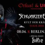 Konzertankündigung – Schwarzer Engel & The Fright in Berlin, 08.04.2018