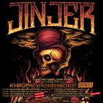 Konzert: Jinjer im Musik & Frieden, Berlin 15.5.2018