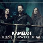 Konzertankündigung: Kamelot & Visions Of Atlantis am 18.9.2018 in Berlin