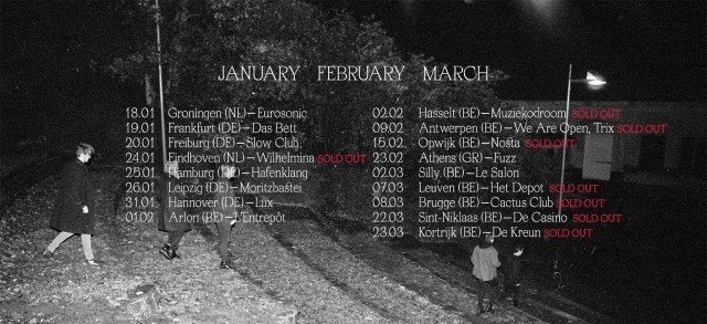Konzertreview: Whispering Sons in Hamburg, 25.01.2019