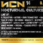 Nocturnal Culture Night – NCN Festival 2019 – #NCN14