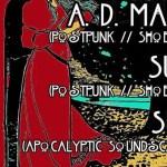 Konzert: A.D. Mana & Suir & Sky im Schokoladen Berlin, 14.05.2019