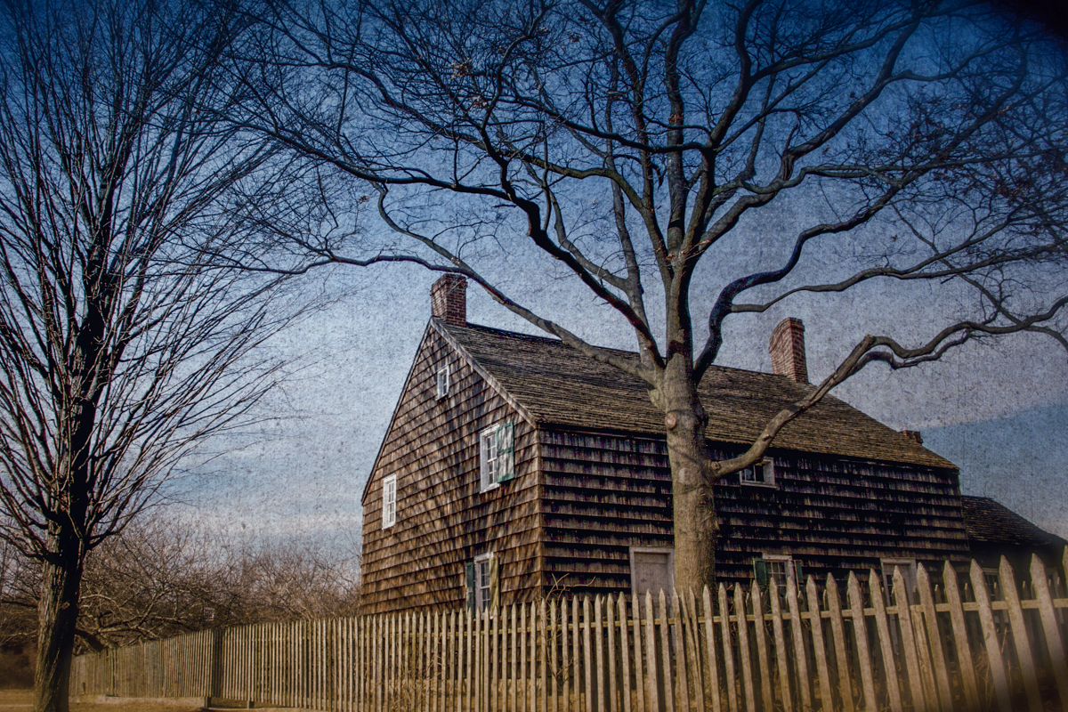 The WIlliams House. Old Bethpage Village Restoration, Old Bethpage, Long Island