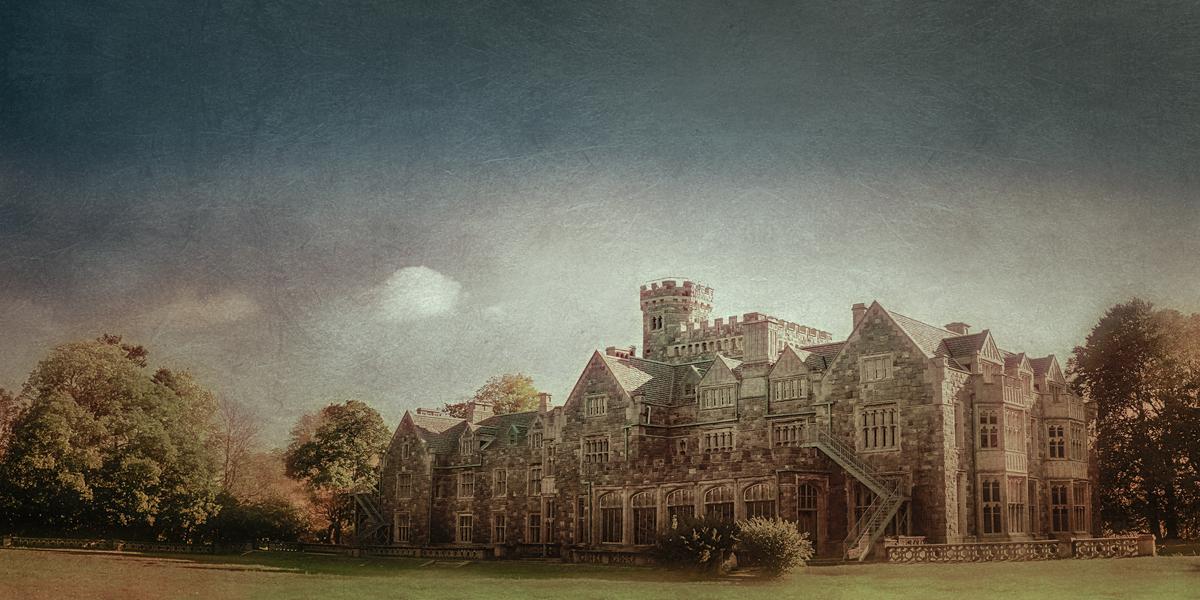 Hempstead House, Castlegould, Sands Point Preserve, Sands Point, Nassau County, Long Island, New York