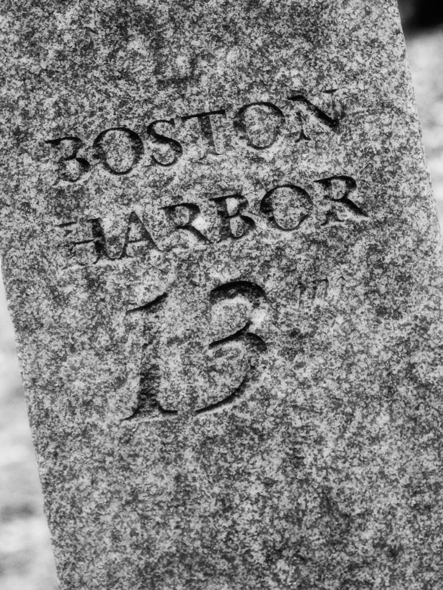 13 Miles to Boston Harbor. Battle Road, Minute Man National Park
