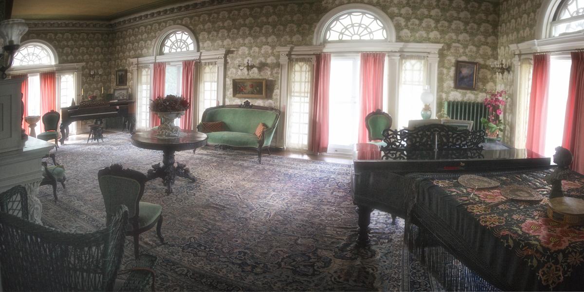 Music Room, Rockcliffe Mansion