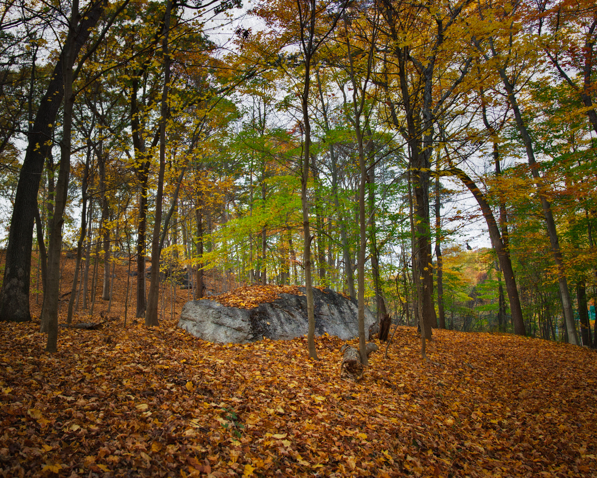 Spook Rock in Sleepy Hollow's Rockefeller Preserve was shrouded in folklore generations before European settlers landed on these shores. The council rock revered by Native Americans was given a mention in Washington Irving's The Legend of Sleepy Hollow.