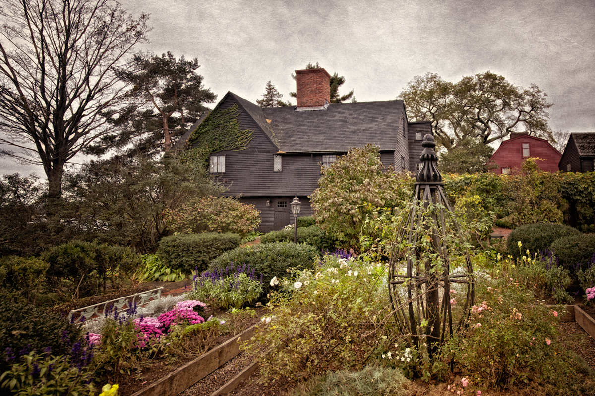 The Gardens at The House of the Seven Gables in Salem, Massachusetts